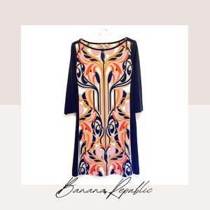 Banaba Republic Pull On Printed Dress
